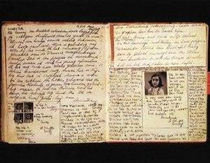 Trecho do Diário de Anne Frank