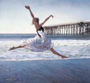 """To dance before sea and sky"", por Steve Hanks"