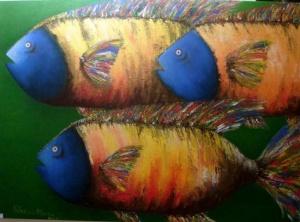 """Peixes alegóricos e biológicos - trabalho interdisciplinar de Português e Biologia, no âmbito do estudo do """"Sermão de Santo António aos Peixes"""""""