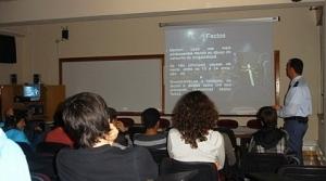 """sessão """"Escola Segura"""" na ESDS"""
