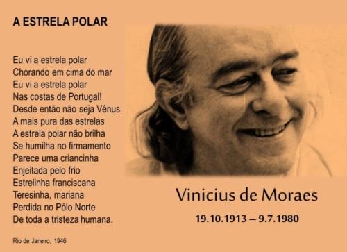 """Palavras dos Outros - """"Estrela Polar"""", de Vinicius de Moraes (a propósito do seu centenário & de outras coisas)"""
