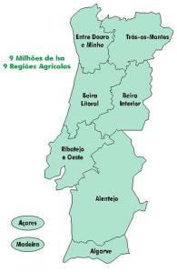 fig. 1 - regiões agrárias