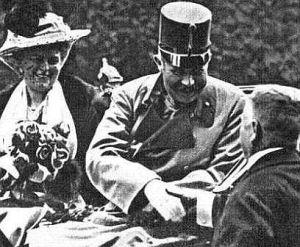Os Arquiduques (Franz Ferdinand e Sophie)