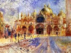 "fig. 6 - Renoir ""Piazza San Marco"""