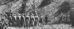 Mata-Hari diante do pelotão de fuzilamento