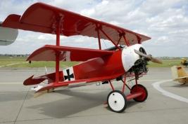 Fokker DR 1 do Barão Vermelho (reconstituição)