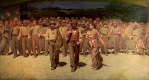 Quarto Stato, de Pellizza de Volpedo (1901)