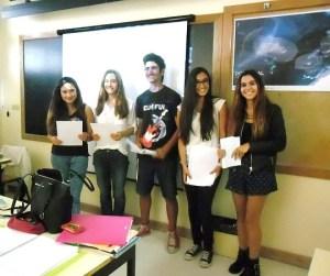 Diana Alves, Teresa Rosado, Paulo Lopes, Maria Inês Costa, Rita Caleça