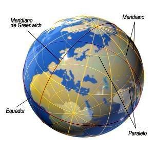 fig. 1 - latitude e longitude