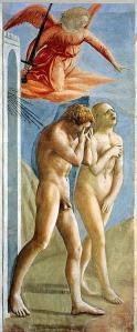 Fig. 3 -Masaccio, Adão e Eva expulsos do Paraíso