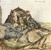 """Fig. 5 - """"Veduta di Arco""""(1495)"""