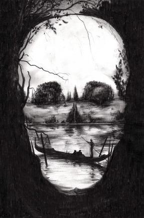 skull and gondola