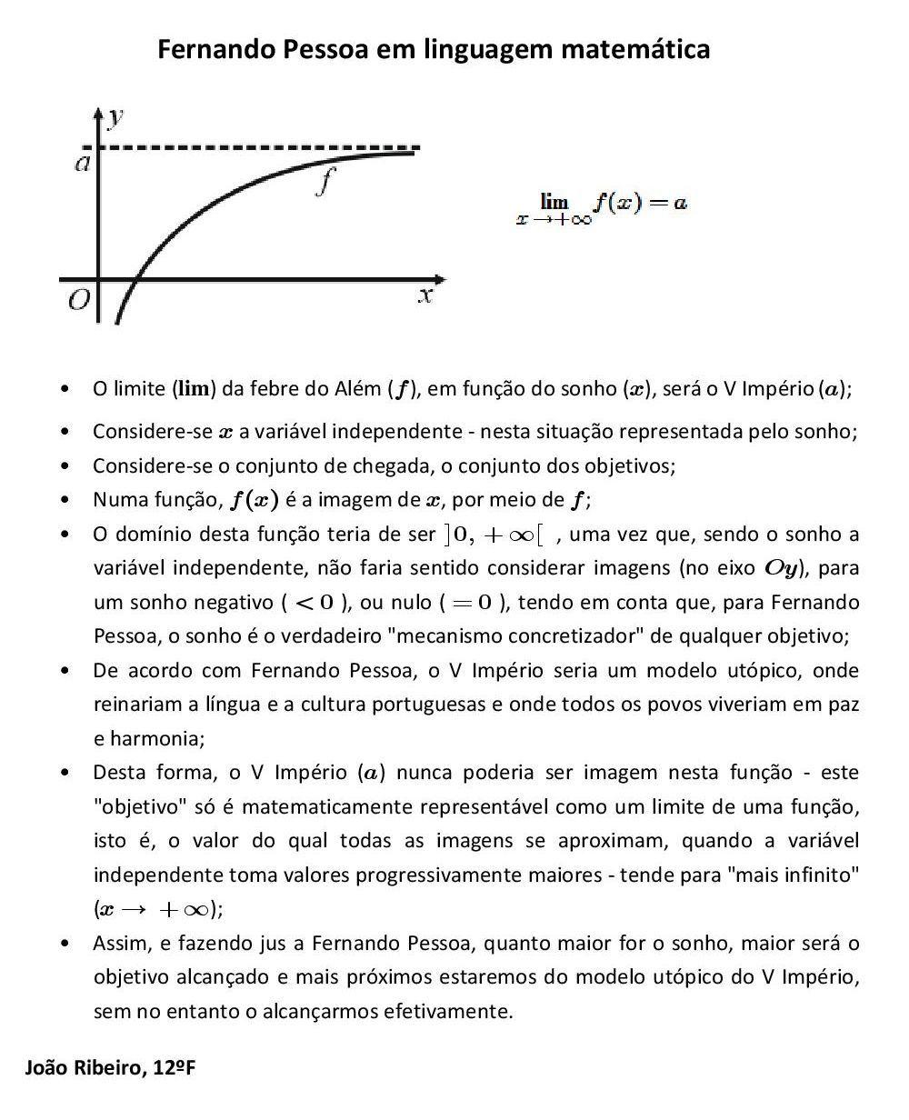 """Populares Texto & Pretexto – """"O Quinto Império – Fernando Pessoa em  SC33"""