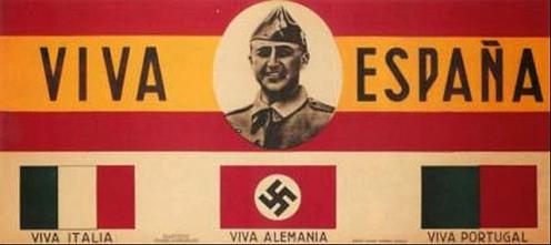 aliados internacionales del bando franquista